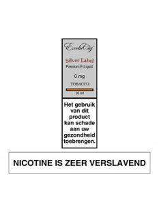 ExcluCig Silver Label Premium E-Liquid - Tabacco