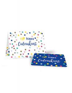 Primera Cadeaukaart met Backcard